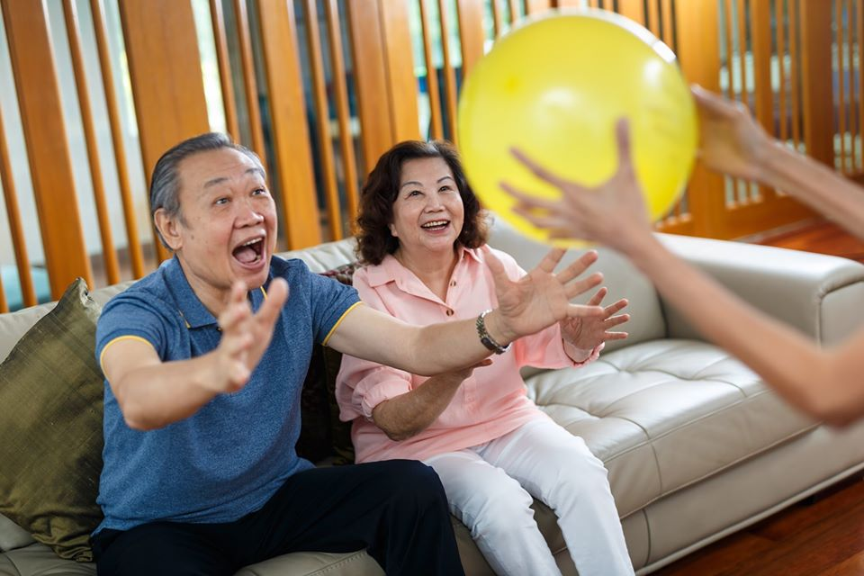 Elderly are having time together at CARE Concierge