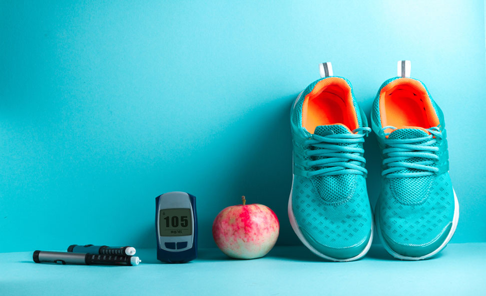 Healthy lifestyles for diabetes